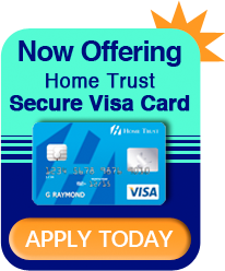 Home Trust Secure Visa - Apply Today